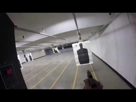 Practicing for my Colorado POST Handgun Qualification Course
