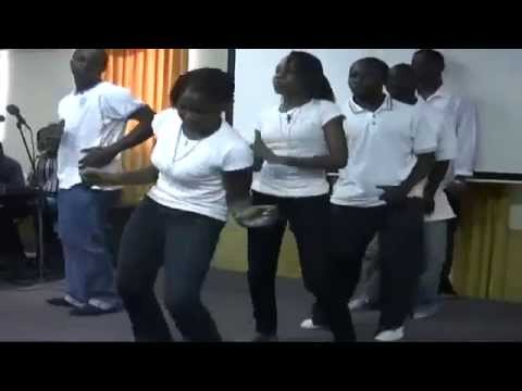 RCCG Kingston Jamaica Youth Dance Catch  a  Fire style