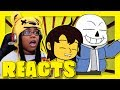 If Undertale Had A Flirting Route 2 | SmashBits Animations Reactions | AyChristene Reacts