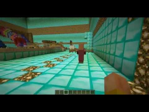Как в майнкрафте сделать аквапарк видео