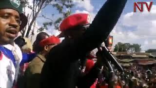 BOBI WINE E KENYA: Nnamungi w'omuntu yeetabye ku lukungaana lw'abaddeko