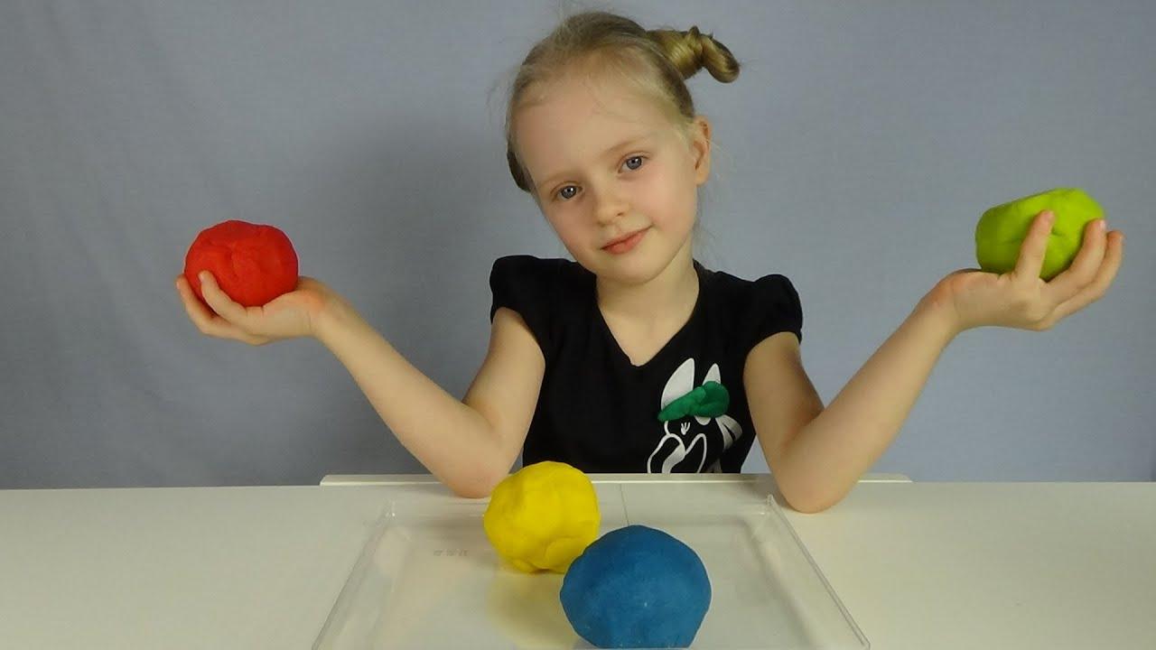 Как сделать пластилин своими руками в домашних