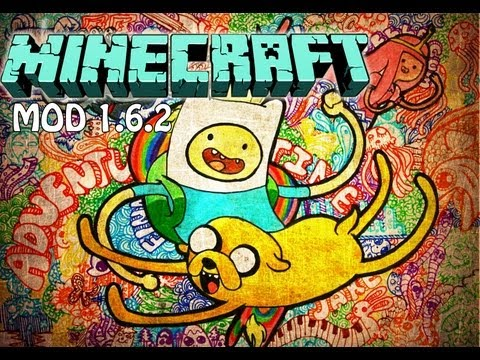 Hora de Aventura Mod Minecraft 1.6.2