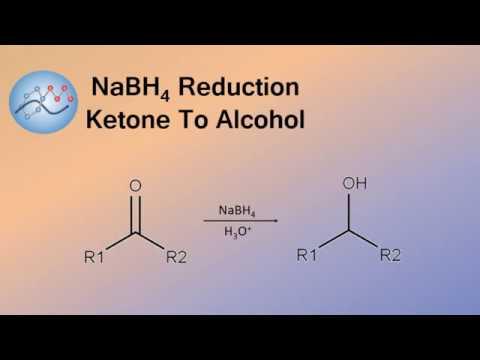 NaBH4 Reduction, Ketone To Alcohol Mechanism | Organic Chemistry