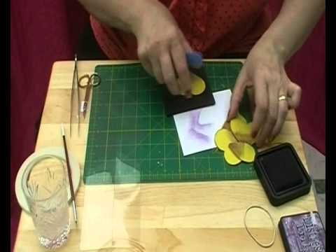 How to Make Paper Pansies