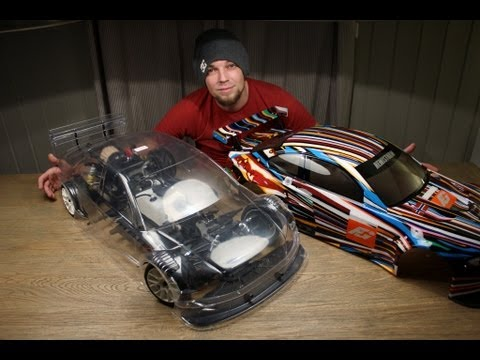Audi A4 DTM - FG 5th Scale Body - YouTube