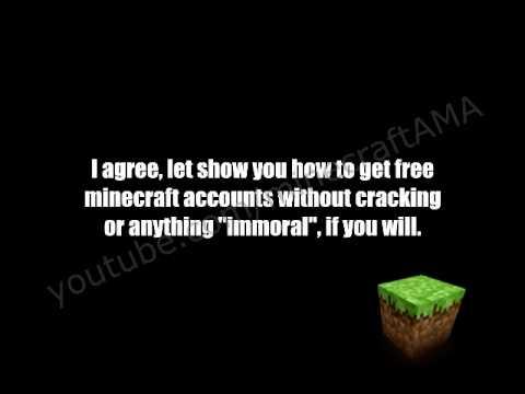 Exploit - How To Get Free Premium Minecraft Accounts! Found June 2014!