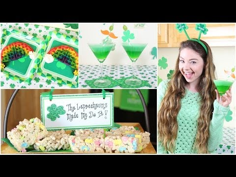St. Patrick's Day Homemade Treats!