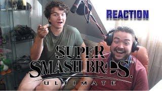 Super Smash Bros Ultimate! - Live Reaction E3 2018