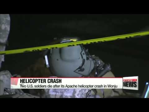 Two presumed dead in U S  military chopper crash