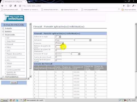 Configurar escritorio remoto VNC. modem Huawei echolife de telmex