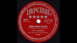 Watch Fats Domino Hide Away Blues video