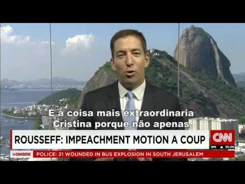 Na CNN jornalista desmascara o impeachment contra Dilma Rousseff no Brasil | O Prato Feito