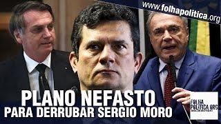 Senador Álvaro Dias confronta corruptos que querem derrubar o ministro Sergio Moro após ataque..