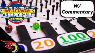 E4 Marble Racing Championship Series: Marble Plinko   Toy Racing