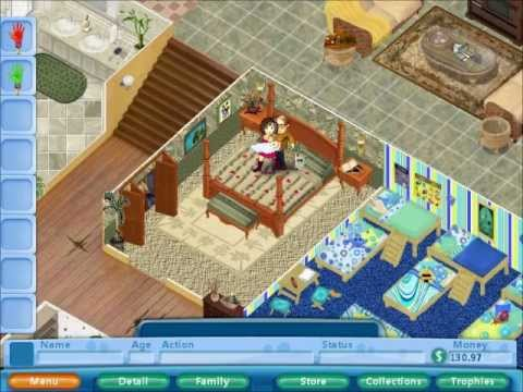 Virtual families 2 youtube for Virtual families 2 decoration