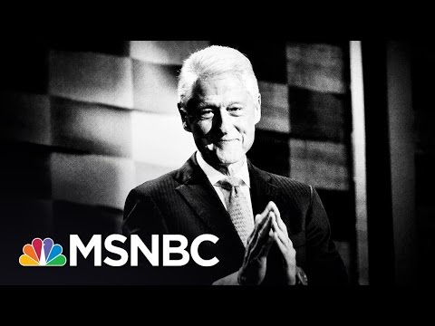 Bill Clinton Takes Risk With Courtship Story | Rachel Maddow | MSNBC