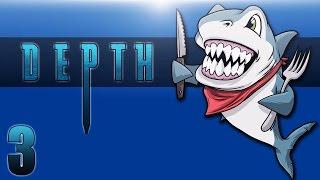DEPTH: DIVERS VS SHARKS Ep. 3 (Best Shark Team) Full Round