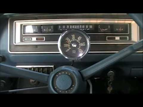 1970 Dodge Truck Starting With 383 Big Block Youtube
