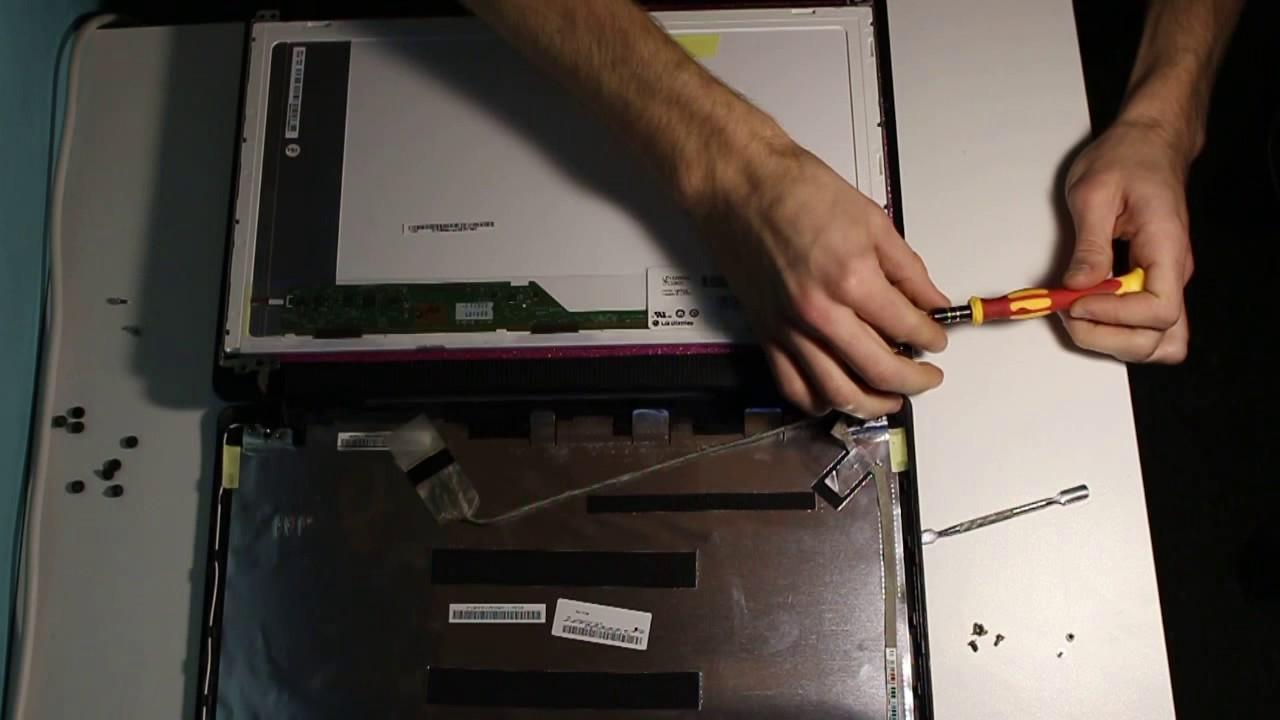 Ремонт матрицы на ноутбуке своими руками 8