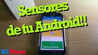 Aprovecha los sensores de tu smartphone! 5(cinco) App Android