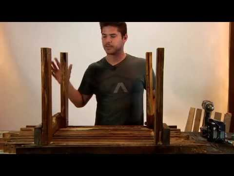 Pallet Furniture Projects   Pallet Wood Coffee Table DIY Tutorial