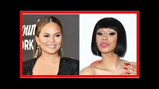 Chrissy Teigen Reacts to Cardi B Threesome Lyric in New Song 'She Bad'
