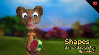 SHAPES ♥ Banu Bablu episode 2 ★ New Malayalam cartoon story