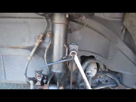 Jeep Compass. Remove Front Shock and Strut-Part 1