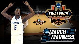 NBA 2K17 - 2017 NCAA Final Four Court Tutorial 6d3ac4076