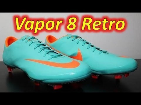 Nike Mercurial Vapor VIII ACC (All Conditions Control) Retro/Challenge Red/Orange - UNBOXING