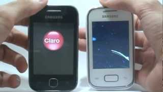 Galaxy Y vs Galaxy Pocket: Comparativo