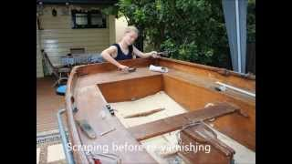 Mirror dinghy story - restoration