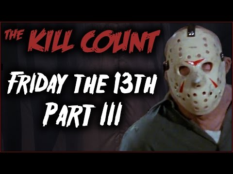 All the kills in Friday the 13th Part 3, broken down and analyzed! PATREON � https://patreon.com/deadmeatjames Dead Meat on Social Media: Twitter � https://twitter.com/deadmeatjames...