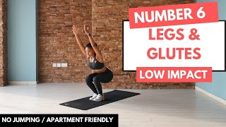 No.6 // GLUTE & LEG DAY WORKOUT  // 10 MINUTE HIIT WORKOUT // HOME WORKOUT FOR BEGINNERS