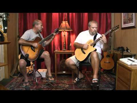 How we play our guitar arrangement of Van Morrison's Moondance. Performed by Lewis amd Klark Guitar Duo. Featuring Rich Kallay on a Taylor T5 and Bob Luterek...