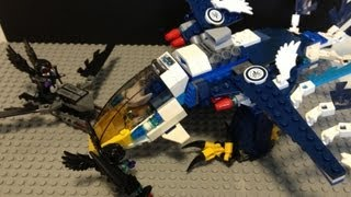 "LEGO Review ""LEGO CHIMA Eris Eagle Interceptor 70003"" Stop Motion"