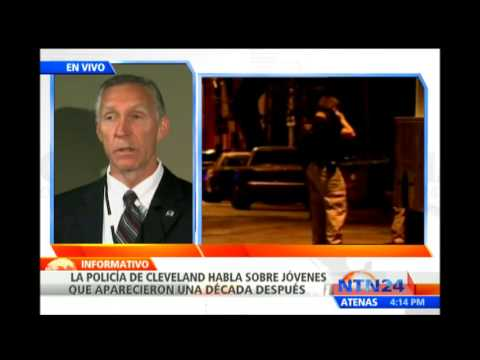 Autoridades de Cleveland entregan detalles de tras aparicin de mujeres secuestradas hace diez aos