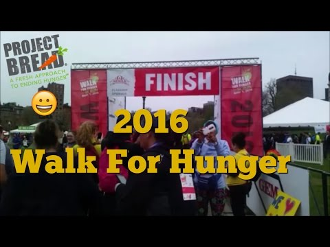 Walk For Hunger (Boston, 2016) !