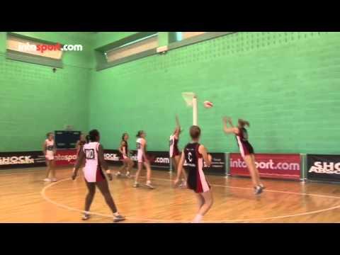 netball skills movement youtube
