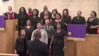 Duane Casey & Contee Conference Choir Performed: Be Blessed My Brother. 03-17-13.