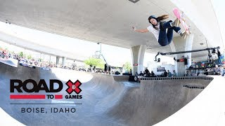 REPLAY: Women's Skate Park Final at Road to X Games: Boise Park Qualifier 2018