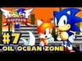 Sonic the Hedgehog 2 Genesis - (1080p) Part 7 - Oil Ocean Zone