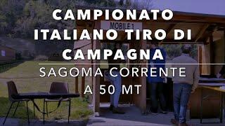 Campionato Italiano Tiro di Campagna sagoma corrente a 50 mt