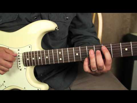Red Hot Chili Peppers - Can't Stop - How To Play On Guitar - Guitar Lessons Frusciante Fender