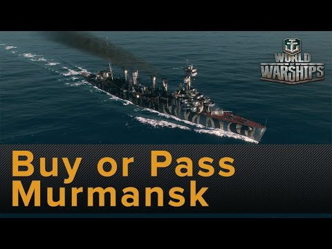 World of Warships: Murmansk (Russian Tier 5 Cruiser) Buy or Pass Review