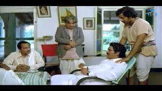 Pandavulu - Manavoori Pandavulu Movie - Rao Gopal Rao Playing Cards with Kantha Rao Funny Scene