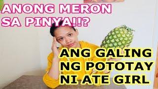 VIRAL PINEAPPLE GIRL VIDEO| GRABE ANG POTOTAY NI ATE | REACTION VIDEO
