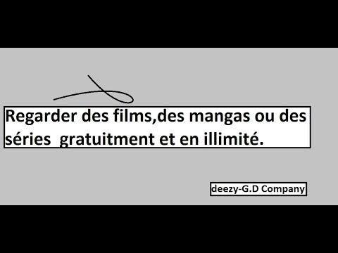 Tuto/Fr : Comment pouvoir visionner des films,séries et des mangas gratuitement en illimté