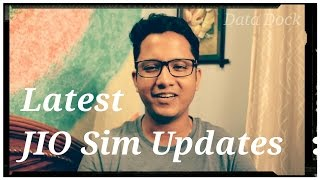 Latest Updates of Jio Sim and Other Telecoms - Data Dock